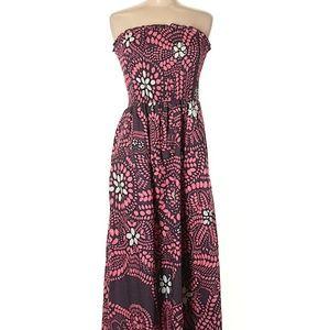 Anthropologie Marimekko flower mid dress